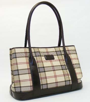 Taupe\Red\Brown Plaid